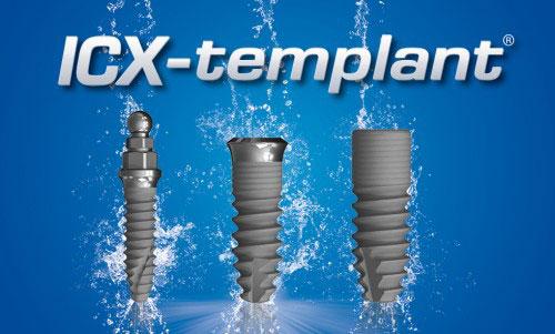 Имплантаты ICX-templant